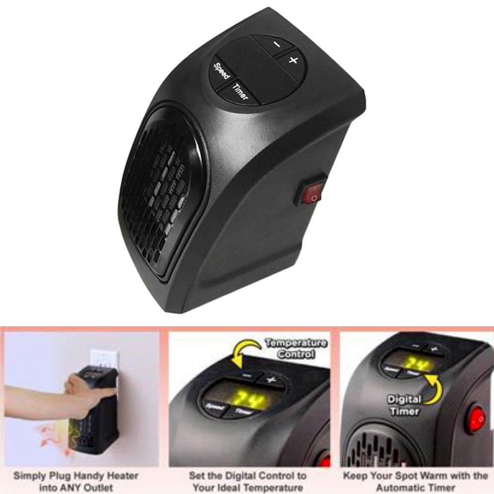 Stufa elettrica 400w portatile spina handy heater presa for Stufa elettrica handy heater opinioni