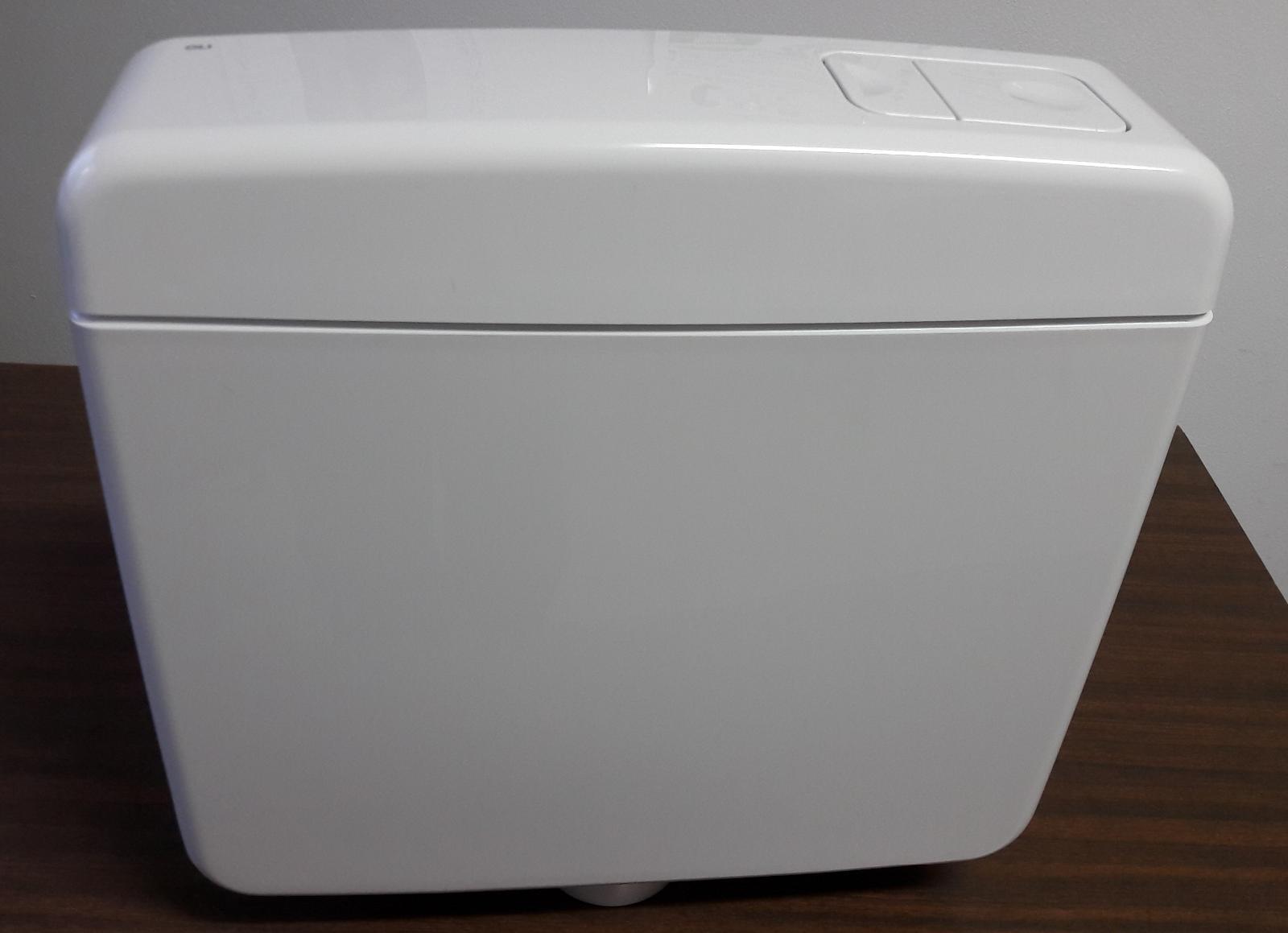 Cassetta wc esterna topazio oli 2 tasti con - Cassetta scarico acqua bagno ...